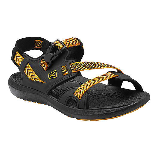 Keen Men s Maupin Sandals - Yellow Black
