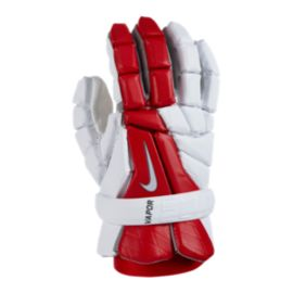 Nike Vapor Elite Lacrosse Gloves - Red/White
