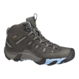 Keen Women's Alamosa Mid Waterproof Hiking Boots - Raven/Alaskan Blue