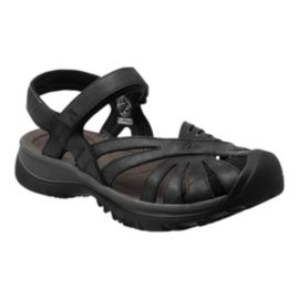 Keen Women's Rose Leather Sandals - Black