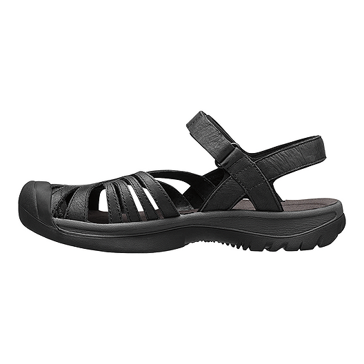 3793ea811baa Keen Women s Rose Leather Sandals - Black