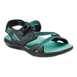 Keen Women's Maupin Sandals - Black/Green