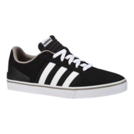 adidas Men's Hawthorn ST Skate Shoes - Black/White/Charcoal
