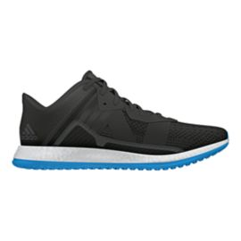 3399feb2502ea4 adidas Men's Pure Boost ZG Trainer Training Shoes - Black/Blue ...
