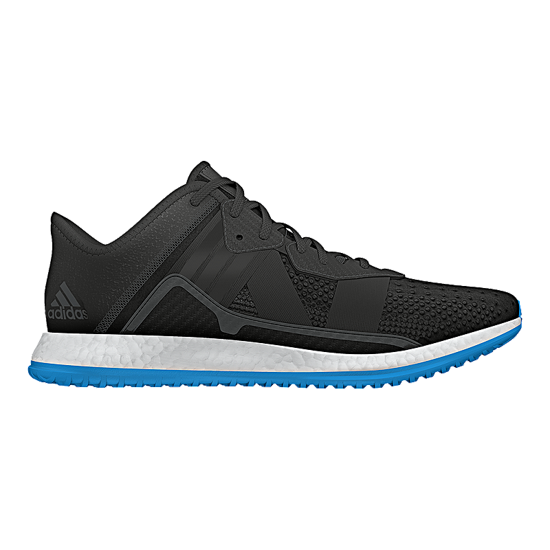 2f212a265 adidas Men s Pure Boost ZG Trainer Training Shoes - Black Blue ...