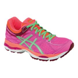 ASICS Women's Gel Cumulus 17 Running Shoes - Pink/Orange/Coral Green