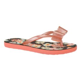 Roxy Girls' Lulu II Sandals - Peach