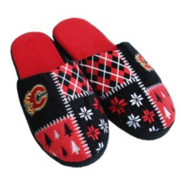 Calgary Flames Ugly Slippers