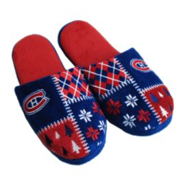 Montreal Canadiens Ugly Slippers