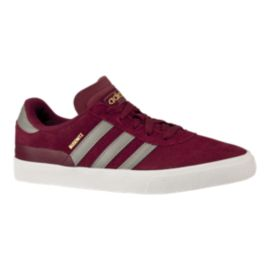 adidas Men's Busenitz Vulc Skate Shoes - Burgundy/White