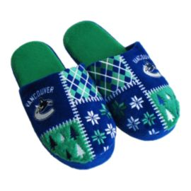 Vancouver Canucks Ugly Slippers
