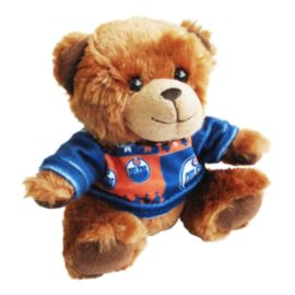 Edmonton Oilers 7.5 Inch Sweater Bear