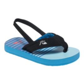 Quiksilver Toddler Molokai Layback Sandals - Blue