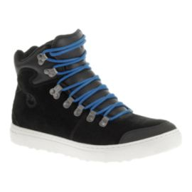 Merrell Men's Valley (Suede) Mid Casual Shoes - Black/Blue