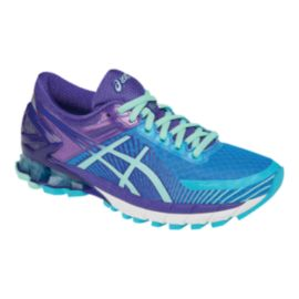 ASICS Women's Gel Kinsei 6 Running Shoes - Blue/Purple