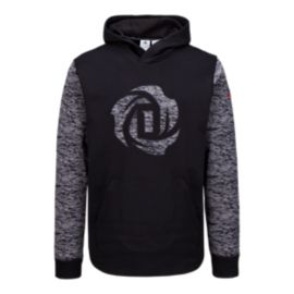 adidas Rose Burnout Men's Pull Over Hoodie
