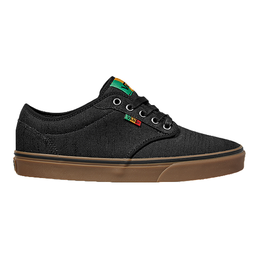 7f38b887ed Vans Men s Atwood (Rasta) Skate Shoes - Black Gum