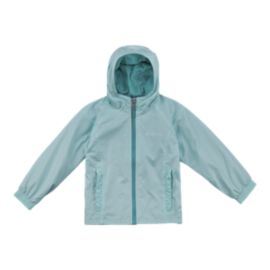 Columbia Toddler Girls' Ethan Pond Fleece Lined Rain Jacket