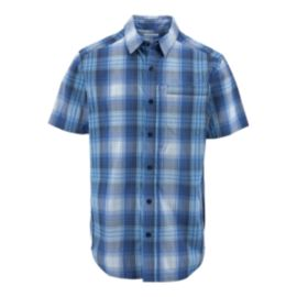 Columbia Global Adventure IV Men's Short Sleeve Plaid Shirt