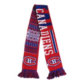 Montreal Canadiens Ugly Reversible Scarf