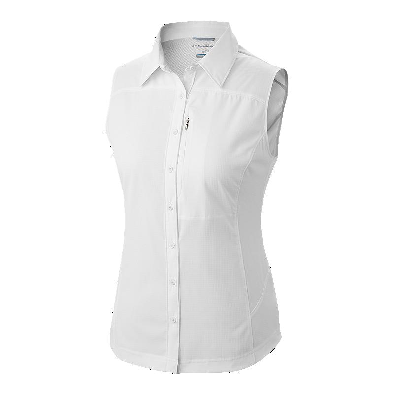 73f05d198b5cb5 Columbia Women s Silver Ridge II Sleeveless Shirt