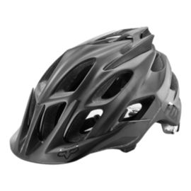 Fox Flux Matte Helmet - Black