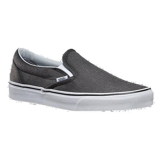 5dbaee1d2075 Vans Men s Classic Slip-On (Suiting) Skate Shoes - Grey