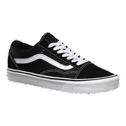 78be3d8370 Vans Men s Old Skool Lite+ Skate Shoes - Black White