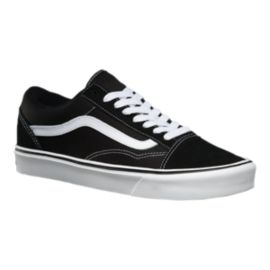 Vans Men's Old Skool Lite+ Skate Shoes - Black/White