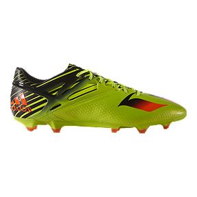f51449ecf3b adidas Men s Messi 15.1 FG Outdoor Soccer Cleats - Lime Green Black Orange