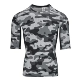 adidas Techfit Camo Base Men's Compression Short Sleeve Top