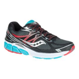 Saucony Women's Omni 14 Running Shoes - Black/Silver/Blue