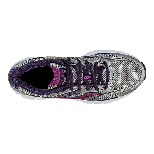 Saucony Women's Grid Exite 8 Running Shoes SilverPurple