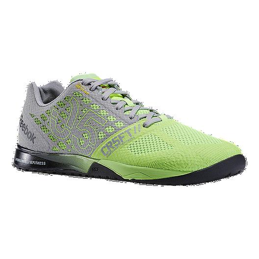 uusin halpa suorituskykyiset urheiluvaatteet Reebok Men's CrossFit Nano 5.0 Training Shoes - Solar Green ...