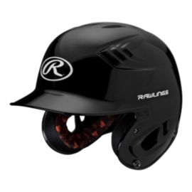 Rawlings R16 Junior Metallic Batter's Helmet - Black