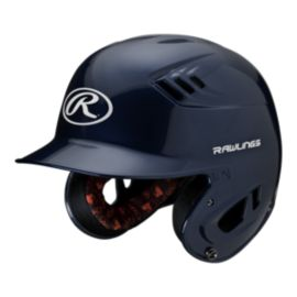 Rawlings R16 Junior Metallic Batter's Helmet - Navy