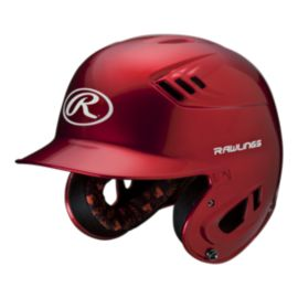 Rawlings R16 Junior Metallic Batter's Helmet - Red