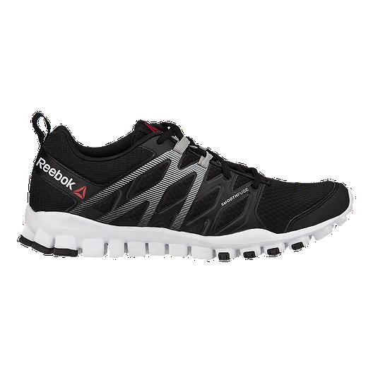 Reebok Men s RealFlex Train 4.0 Training Shoes - Black White Grey ... 3ef7bea32