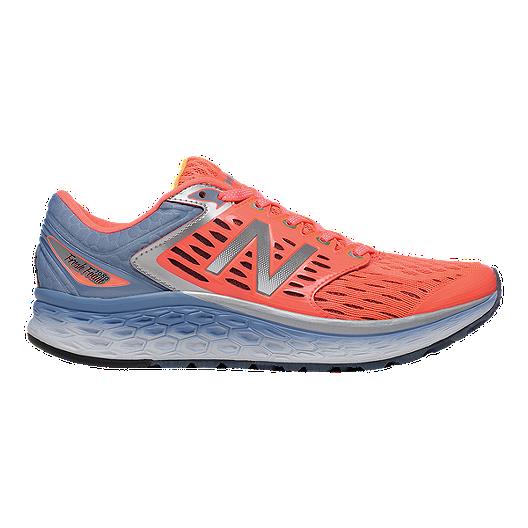 45ed408031fd New Balance Women s Fresh Foam 1080 Running Shoes - Orange Blue ...