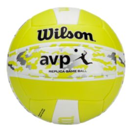 Wilson AVP Camo II Bold Volleyball - Optic Green