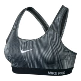 Nike Pro Classic Padded Frequency All-Over Print Women's Bra