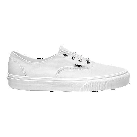 Vans Authentic Gore (Studs) Skate Shoes White | Sport Chek