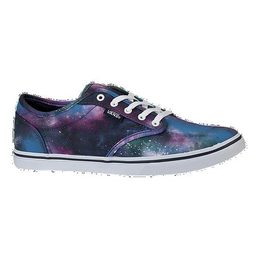 6020e194ba Vans Women s Atwood Low Skate Shoes - Cosmic Galaxy