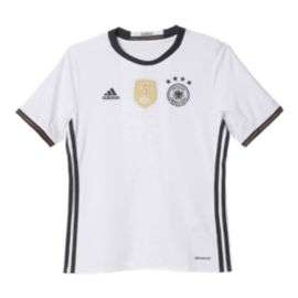 Germany Kids' Home Youth Soccer Jersey
