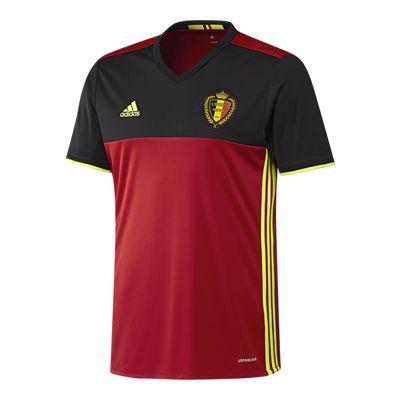 Belgium Home Soccer Jersey