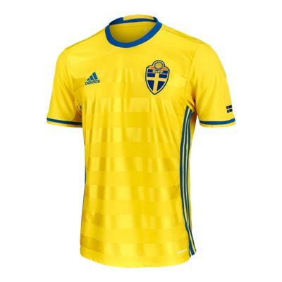 Sweden Home Soccer Jersey