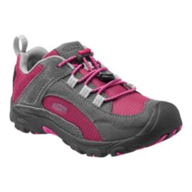 Keen Girls' Joey Hiking Shoes - Sangria/Gargoyle