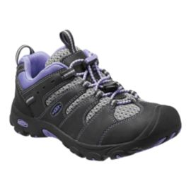 Keen Girls' Koven Low Hiking Shoes - Raven/Periwinkle