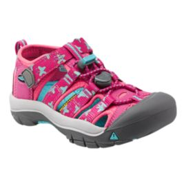 Keen Girls' Newport H2 Preschool Sandals - Berry