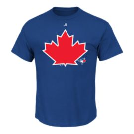 Toronto Blue Jay Over Size Maple Leaf Tee
